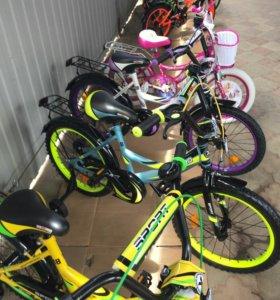 Велосипеды с двумя дополнительными колесами