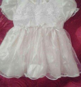Платье от 0-1года