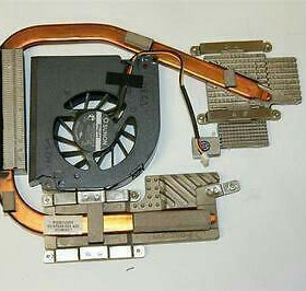 Радиатор и вентилятор ноутбука Acer Extensa 5620