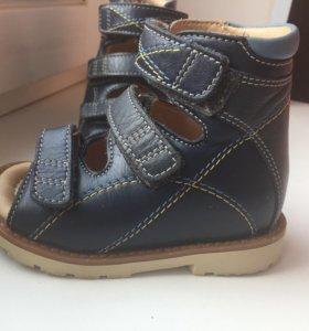 Обувь ортопедическая детская нат.кожа