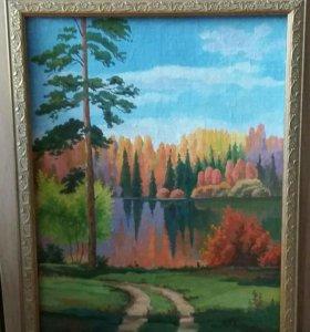 Картины маслом на холсте 30х40