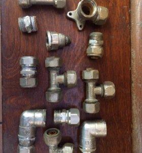 Переходники на метало-пластиковые трубы