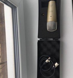 Микрофон behringer C1, кабель XLR