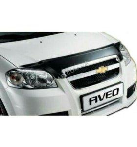 Новый Дефлектор капота Chevrolet Aveo