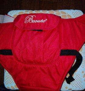 Кенгуру-рюкзак переноска, полукапюшон