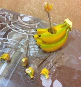 """Набор для канапе""""Банан"""""""