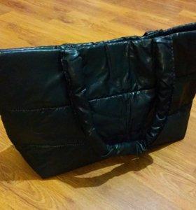 Новая сумка дутик
