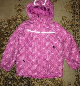 Куртка зимняя на девочку Tokka