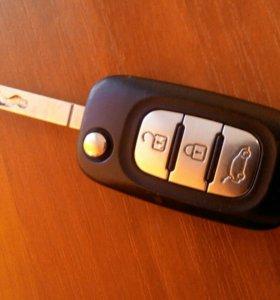 Ключ от автомобиля рено