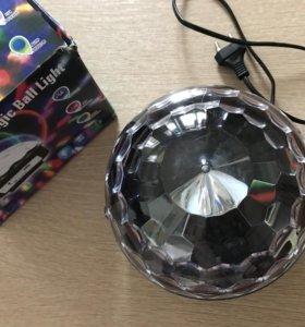 Диско-Шар с Bluetooth (led magic ball)