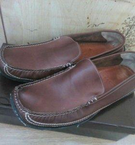 Мокасины кожаные MEXX новые