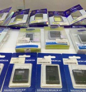 Аккумуляторы для samsung, iphone и др