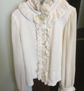 Блузка и рубашка для школы