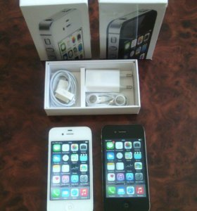 Iphone 4s black, white новые
