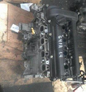 Двигатель хендай солярес, киа рио