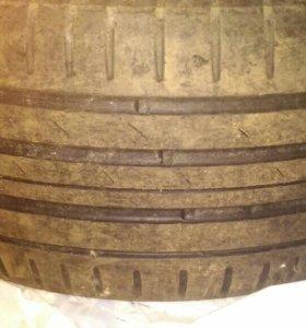Резина NOKIAN R21, 265/45, 2шт. стояла на инфинити