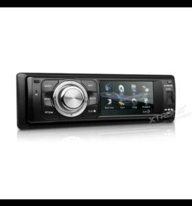 Авто магнитола сенсорным экраном, bluetooth DVD