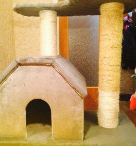 Домик для кошки 🐱 с котятами