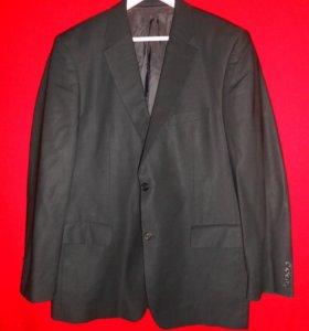 Винтажный шерстяной пиджак Hugo Boss
