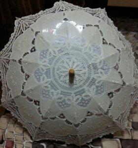 Зонтик свадебный