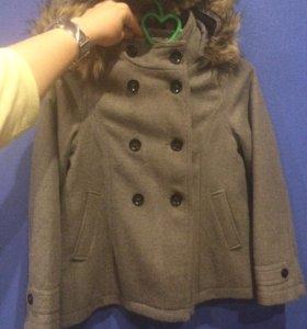 Пальто девочка