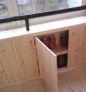 Обшивка балконов, помещений, саун, бань
