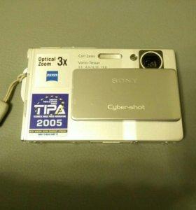 Sony Cyber-Shot DSC-T7(Silver)
