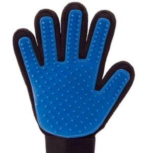 Перчатка- расческа для очистки шерсти