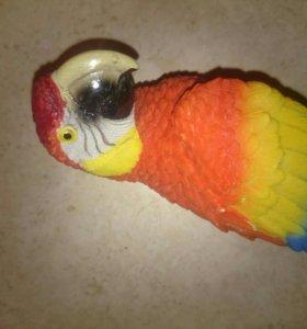 Настенные попугайчики из полистоуна
