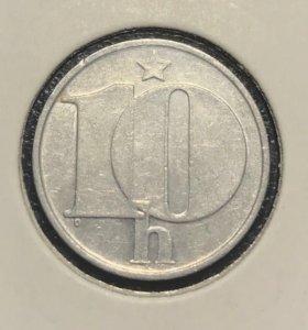 Монета Чехословакии