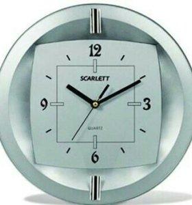 🕓 Настенные часы Scarlett SC-55FT