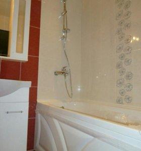 Ремонт ванной комнаты Санузел под ключ