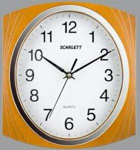 🕓 Настенные часы Scarlett SC-55RB
