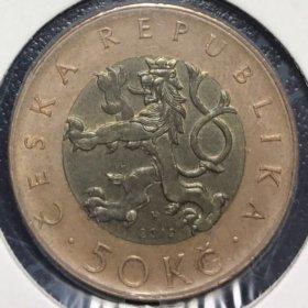 Монета Чехии
