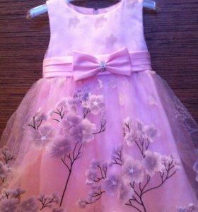 Праздничное платье 1-2г