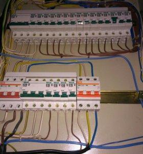 Электрик , услуги электрика, вызов электрика 24 ч.