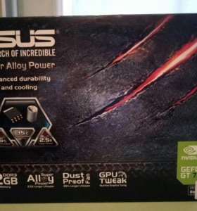 Asus Nvidia GeForce GT730 (2gb DDR3)