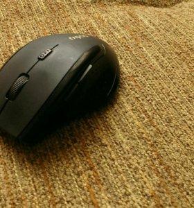 Беспроводная оптич.мышь черная