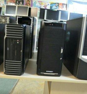 Системные блоки. Компьютер в сборе.