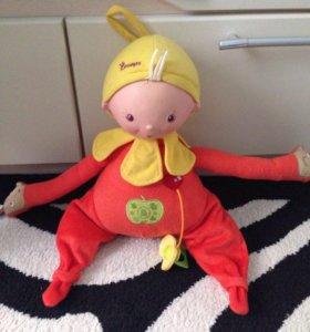 Интерактивная поющая кукла Аленка