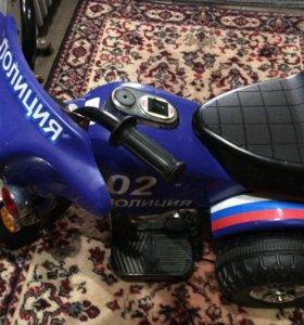 Мотоцикл электромобиль