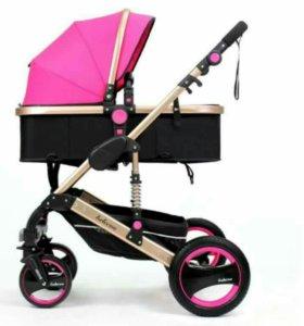 Новая детская коляска Belecoo 2в1