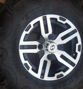 Комплект колес для квадроцикла