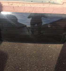 Стекло крышки багажника prado 120