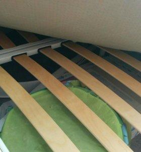 Кровать и матрас 160*200