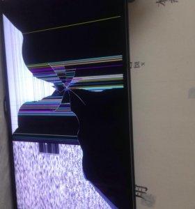 Телевизор ( повреждена матрица)