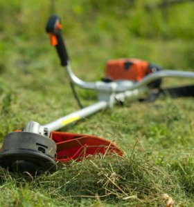 Осенняя подготовка сада.Покос травы