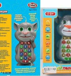 Телефон Кот обучающий
