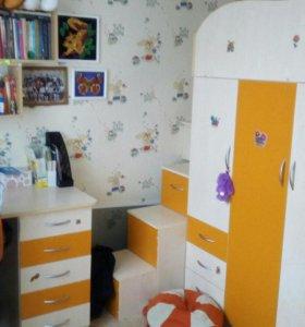 Мебель для детской с двумя кроватями
