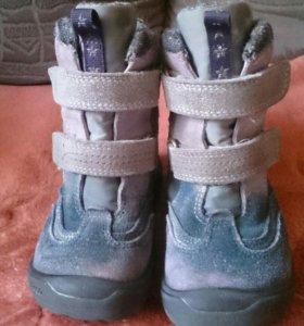 Экко/Ecco ботинки б/у 25 размер еврозима